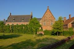 Jardín de la abadía histórica de Bijloke, Gante Fotografía de archivo libre de regalías