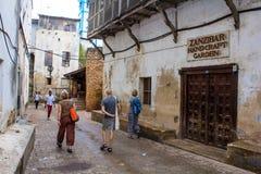 Jardín de la artesanía de Zanzíbar Imagen de archivo libre de regalías