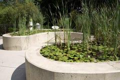 Jardín de la aventura de los niños en Dallas Arboretum fotos de archivo