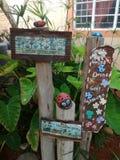 Jardín de la cartelera Foto de archivo