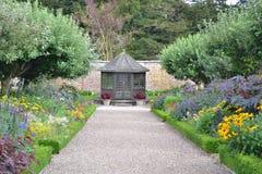 Jardín de la casa de Sledmere Fotos de archivo libres de regalías