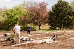 Jardín de la comunidad Fotos de archivo