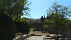 Jardín de la escalera imagen de archivo libre de regalías