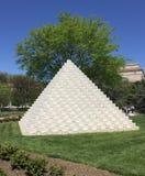 Jardín de la escultura Fotografía de archivo