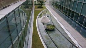 Jardín de la escultura Imágenes de archivo libres de regalías