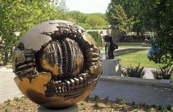 Jardín de la escultura de Hirshorn en Washington DC Imágenes de archivo libres de regalías