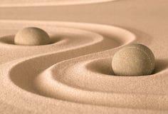 Jardín de la espiritualidad del zen imágenes de archivo libres de regalías