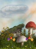 Jardín de la fantasía ilustración del vector