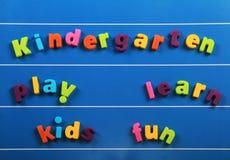 Jardín de la infancia Fotografía de archivo libre de regalías