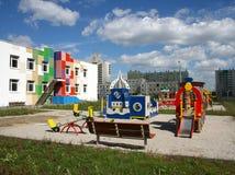 Jardín de la infancia. Imagenes de archivo