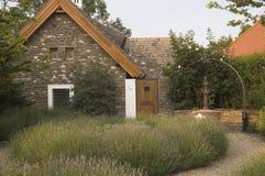 Jardín de la lavanda Imagen de archivo libre de regalías