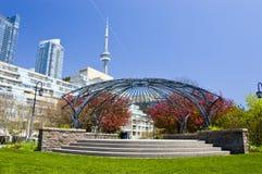 Jardín de la música de Toronto Imagen de archivo libre de regalías