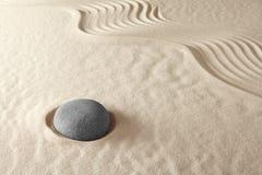 Jardín de la meditación del zen fotografía de archivo libre de regalías