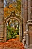 Jardín de la memoria   Fotos de archivo libres de regalías