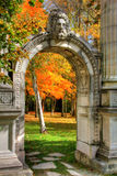 Jardín de la memoria Imágenes de archivo libres de regalías