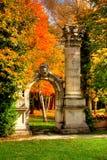 Jardín de la memoria   Imagen de archivo libre de regalías