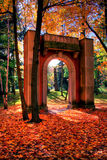 Jardín de la memoria   Imagenes de archivo
