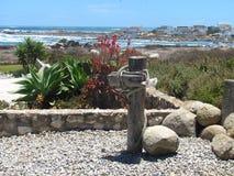 Jardín de la playa Fotos de archivo