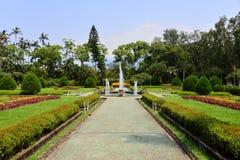 Jardín de la residencia de Taipei Shilin Imagenes de archivo