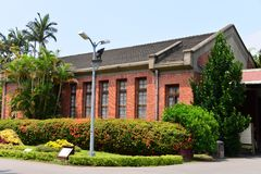 Jardín de la residencia de Taipei Shilin Imagen de archivo