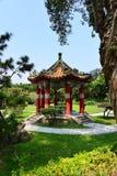 Jardín de la residencia de Taipei Shilin Foto de archivo libre de regalías