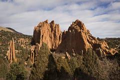 Jardín de los picos de dioses Foto de archivo