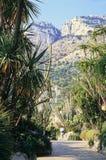 Jardín de Mónaco Fotos de archivo