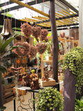 Jardín de madera Imagen de archivo