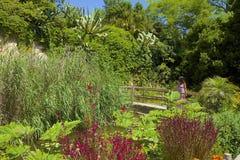 Jardín de Marimutra en Blanes, España fotos de archivo libres de regalías