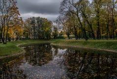 Jardín de Mikhailovsky Fotografía de archivo