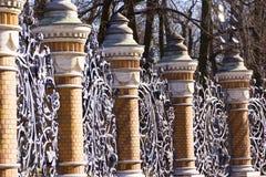 Jardín de Mikhailovsky de la parrilla del guardia imágenes de archivo libres de regalías