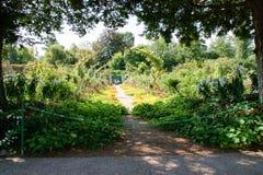 Jardín de Monet Fotos de archivo libres de regalías