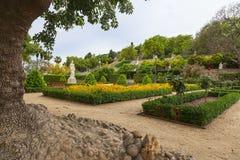Jardín de Montjuic Fotos de archivo libres de regalías