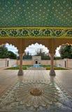 Jardín de Mughal del indio Fotografía de archivo libre de regalías