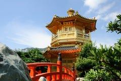 Jardín de Nan Lian Fotos de archivo libres de regalías