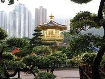 Jardín de Nan Lian (dinastía de espiga) famoso Fotografía de archivo