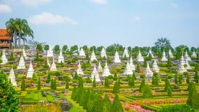 Jardín de Nong Nooch, Pattaya, Tailandia fotos de archivo
