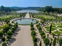 Jardín de Orangerie del palacio de Versalles Fotos de archivo libres de regalías