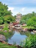 Jardín de Osaka en Chicago Fotografía de archivo