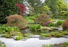 Jardín de piedra Fotos de archivo