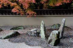 Jardín de piedra Fotografía de archivo libre de regalías