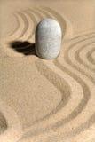Jardín de piedra Foto de archivo libre de regalías