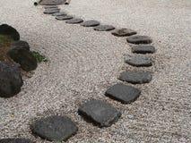 Jardín de piedra japonés Fotografía de archivo libre de regalías