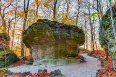 Jardín de piedras Imágenes de archivo libres de regalías
