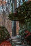 Jardín de piedras Imagenes de archivo