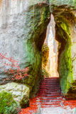 Jardín de piedras Fotos de archivo libres de regalías