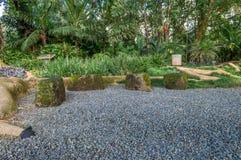 Jardín de piedras Imagen de archivo
