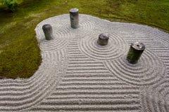 Jardín de piedras Fotos de archivo