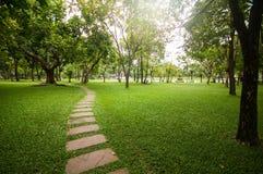 Jardín de relajación Foto de archivo