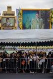 Jardín de rey Rama 9 Fotografía de archivo